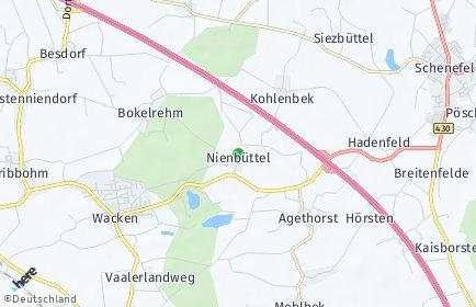 Stadtplan Nienbüttel