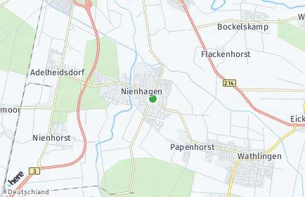 Stadtplan Nienhagen bei Celle