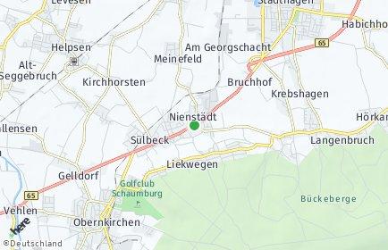 Stadtplan Nienstädt