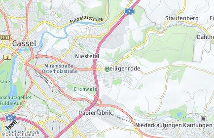 Stadtplan Niestetal