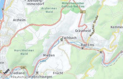 Stadtplan Nievern