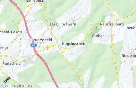 Stadtplan Nimshuscheid