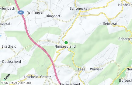 Stadtplan Nimsreuland