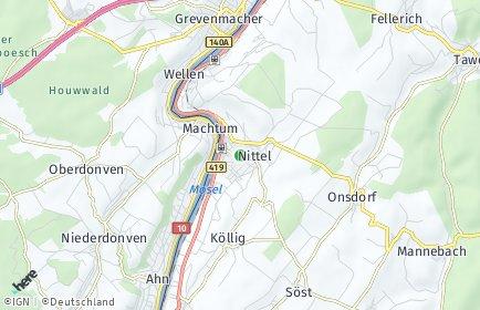 Stadtplan Nittel OT Köllig