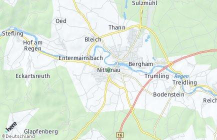 Stadtplan Nittenau