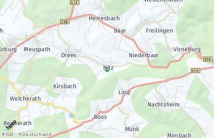Stadtplan Nitz