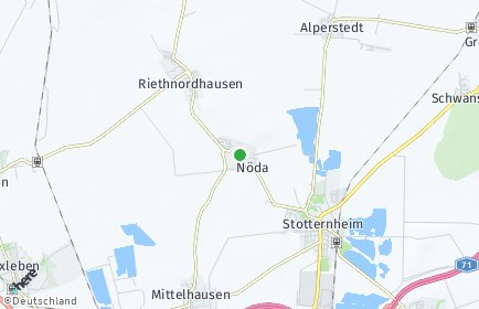 Stadtplan Nöda