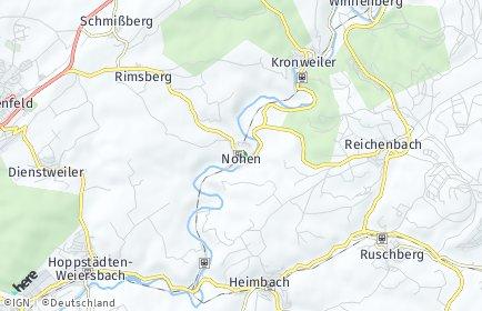 Stadtplan Nohen