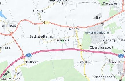 Stadtplan Grammetal OT Ulla