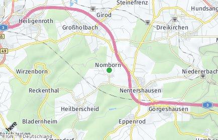 Stadtplan Nomborn