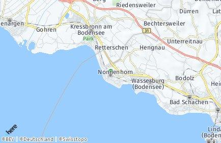 Stadtplan Nonnenhorn