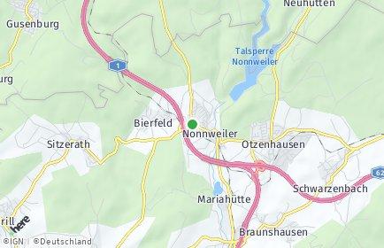 Stadtplan Nonnweiler