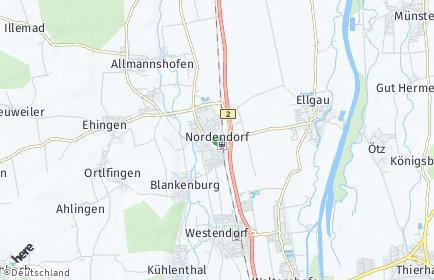 Stadtplan Nordendorf