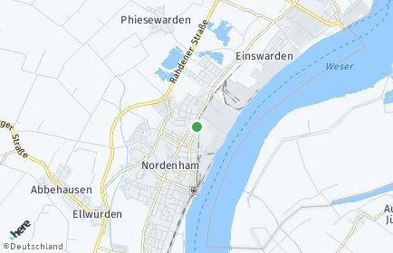 Stadtplan Nordenham