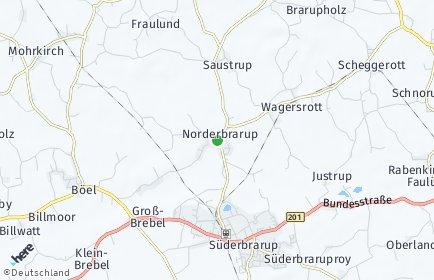 Stadtplan Norderbrarup