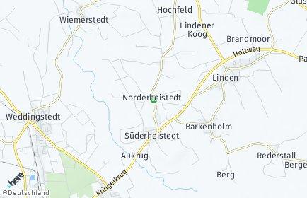 Stadtplan Norderheistedt