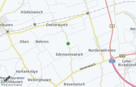Stadtplan Norderwöhrden