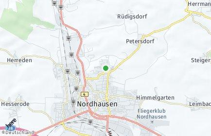 Stadtplan Nordhausen