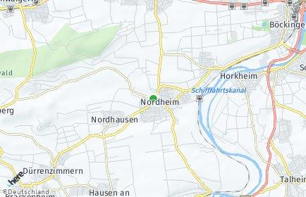 Stadtplan Nordheim (Württemberg)