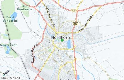 Stadtplan Nordhorn