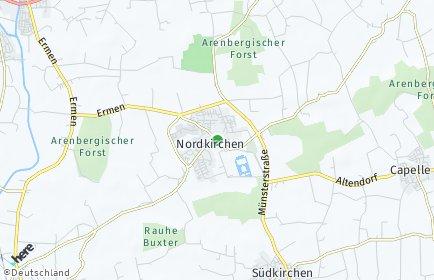 Stadtplan Nordkirchen
