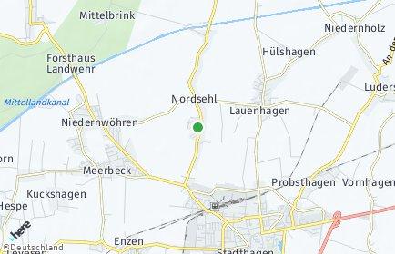Stadtplan Nordsehl