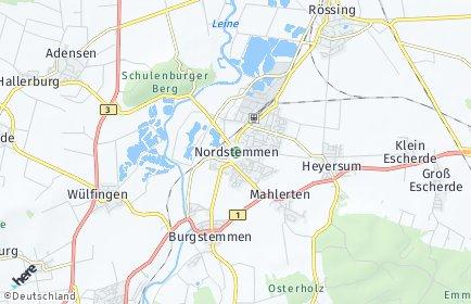 Stadtplan Nordstemmen