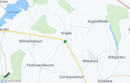 Stadtplan Nordwestuckermark