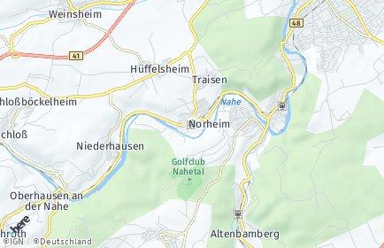 Stadtplan Norheim