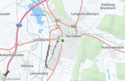 Stadtplan Northeim