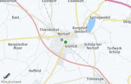 Stadtplan Nortorf
