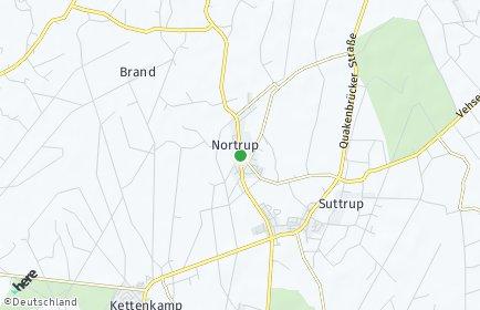 Stadtplan Nortrup