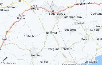 Stadtplan Nottfeld