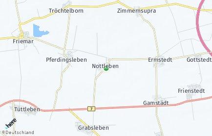 Stadtplan Nottleben