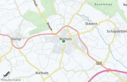 Stadtplan Nottuln