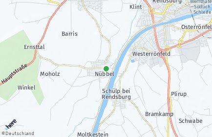 Stadtplan Nübbel