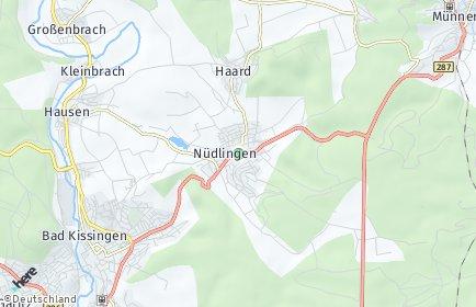 Stadtplan Nüdlingen