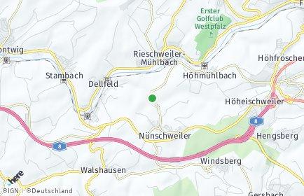 Stadtplan Nünschweiler