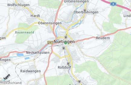 Stadtplan Nürtingen