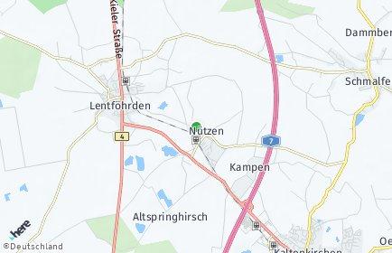 Stadtplan Nützen