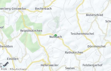 Stadtplan Nußbach