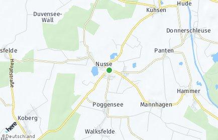 Stadtplan Nusse