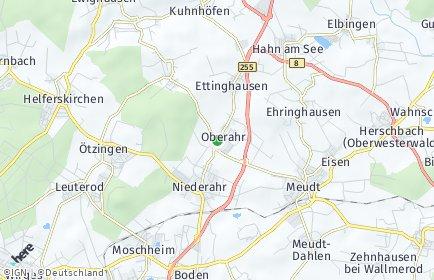 Stadtplan Oberahr