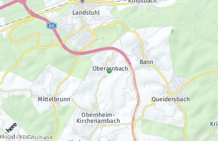 Stadtplan Oberarnbach