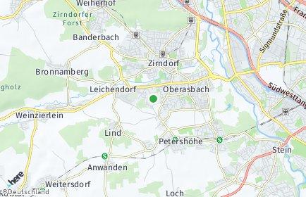 Stadtplan Oberasbach OT Altenberg