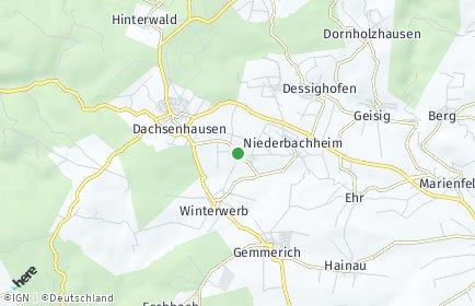 Stadtplan Oberbachheim