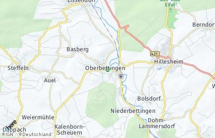 Stadtplan Oberbettingen