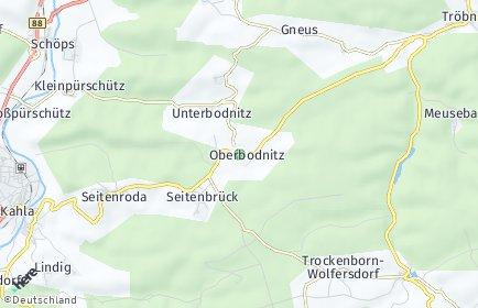 Stadtplan Oberbodnitz