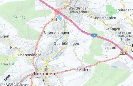 Stadtplan Oberboihingen