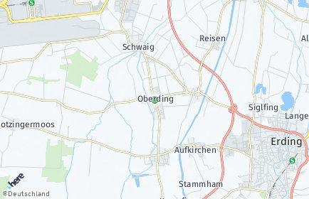 Stadtplan Oberding